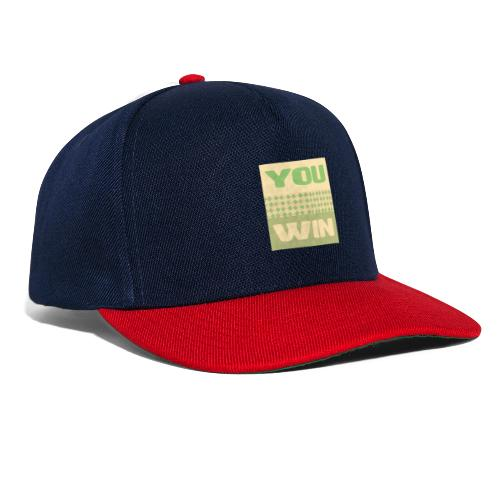 you win 12 - Snapback Cap