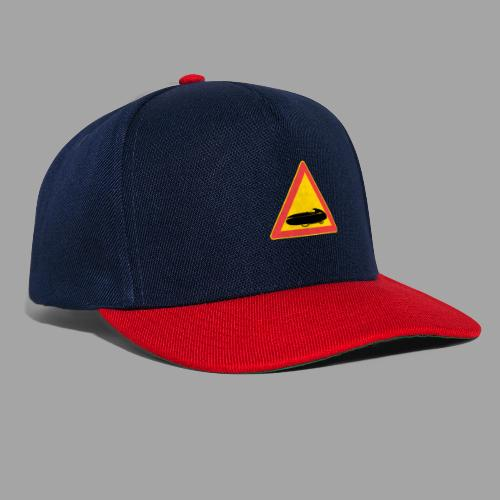 Traffic sign velomobile - Snapback Cap