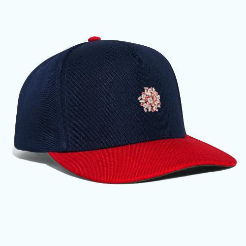 Hippie Aquarell Blumen - Snapback Cap