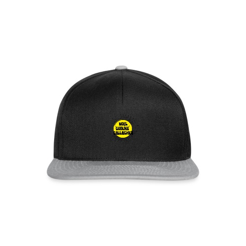 Noel Gallagher 'Godlike' - Black on Yellow - Snapback Cap