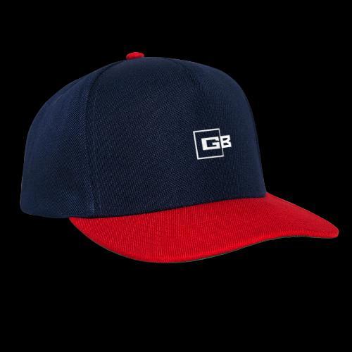 Valkoinen Gymbox logo - Snapback Cap