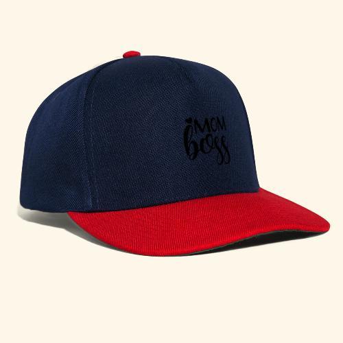 MomBoss5 - Snapback Cap