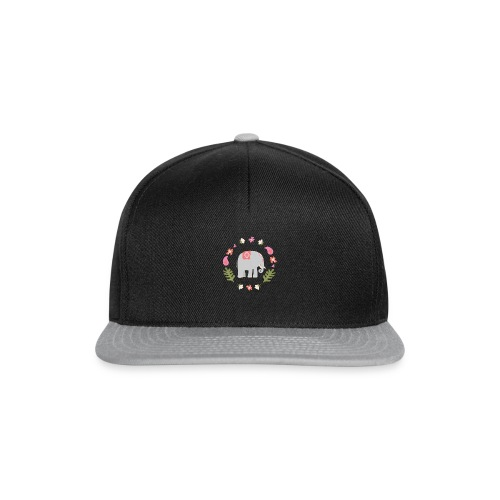 Indian elephant - Snapback Cap