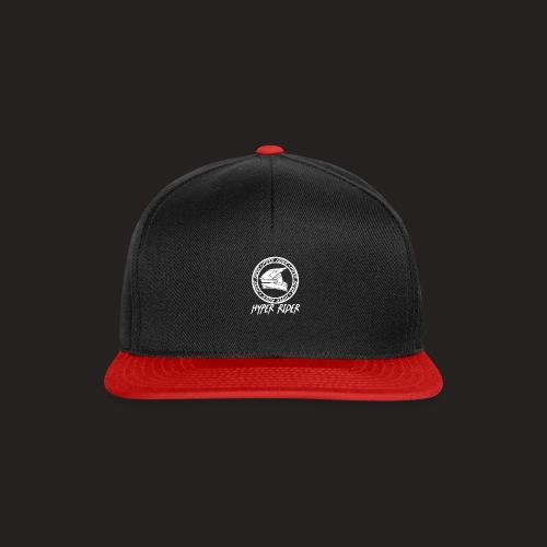white back - Snapback Cap
