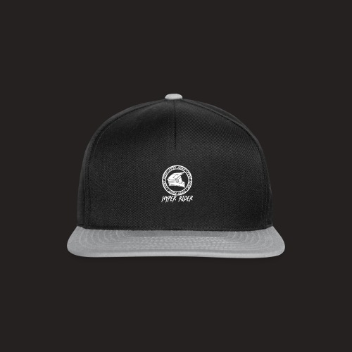 white back - Snapback Cap