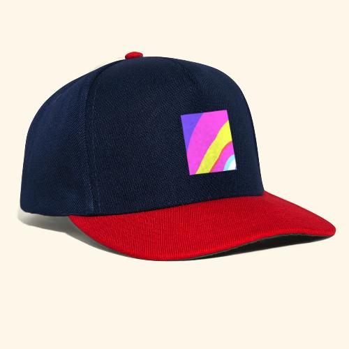 Curva colorata - Snapback Cap