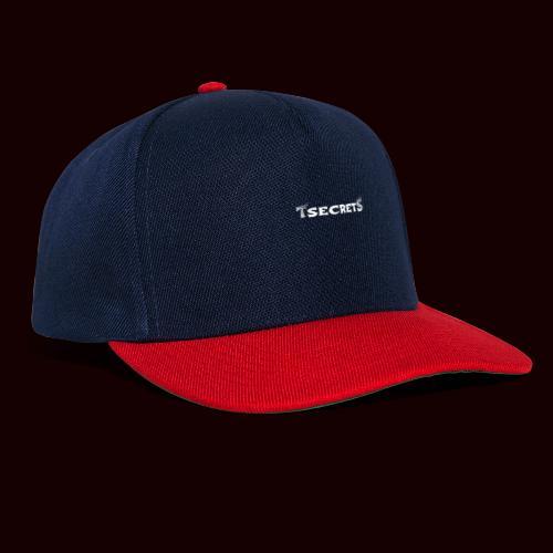 TsecretS white - Snapback Cap