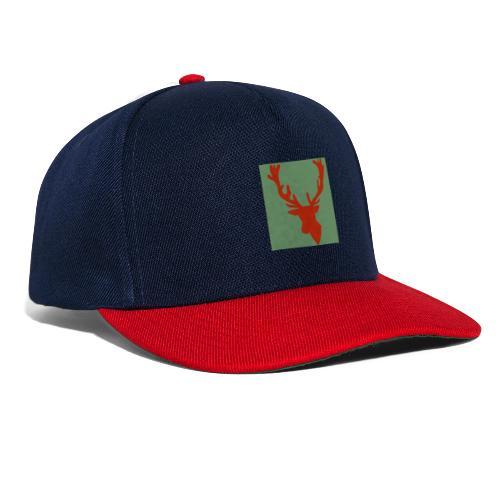 Hirch B RED - Snapback Cap