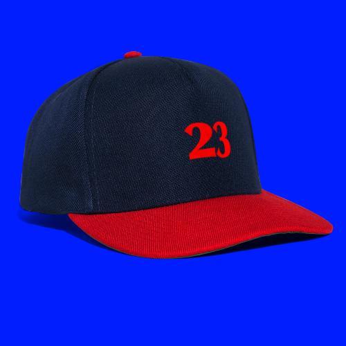 Number 23 - Snapbackkeps