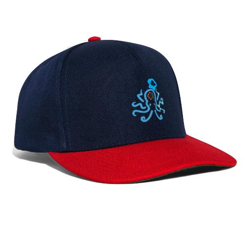 DT3 Octopus - Blue - Snapback Cap