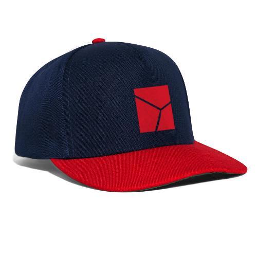 Logo in Rot - Snapback Cap