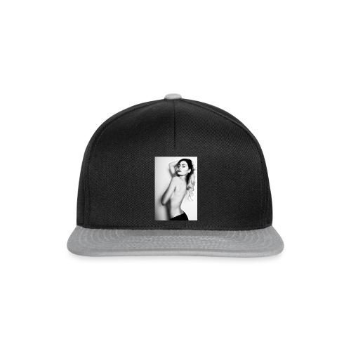 Hot babe b/w - Snapback Cap