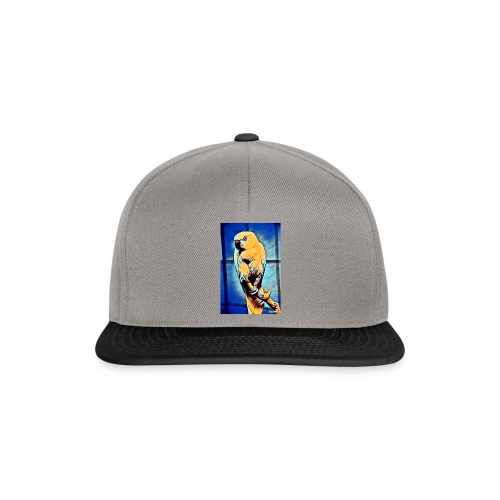 Bird in color - Snapback Cap