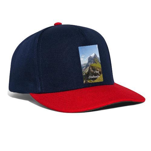 Naturpark Puez Geisler - Snapback Cap