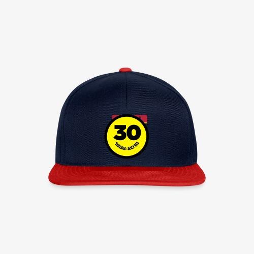30 Jaar Belgian New Beat Smiley - Snapback cap
