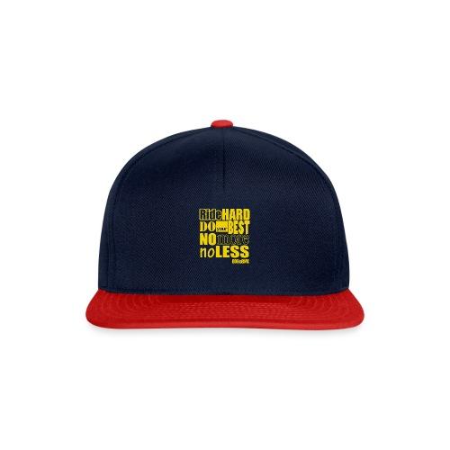 ridehard yellow - Snapback Cap