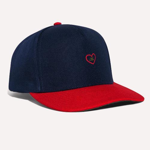I have A Dream Print On Demand Love Heart Symbol - Snapback Cap