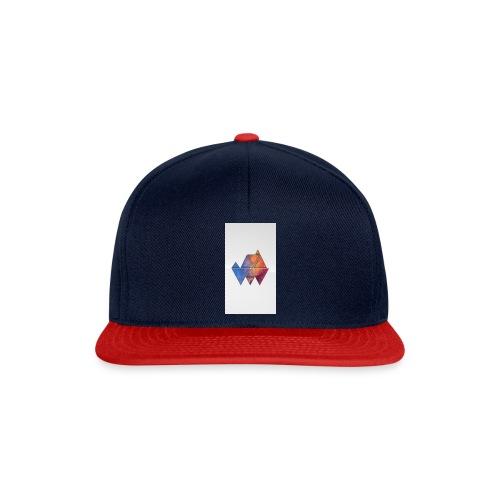 Colourful_Triangles - Snapback Cap