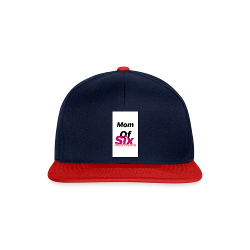 Mom of six and twins - Casquette snapback