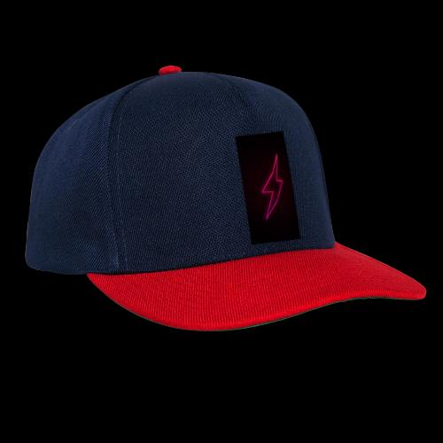 neon lighting copy - Snapback Cap