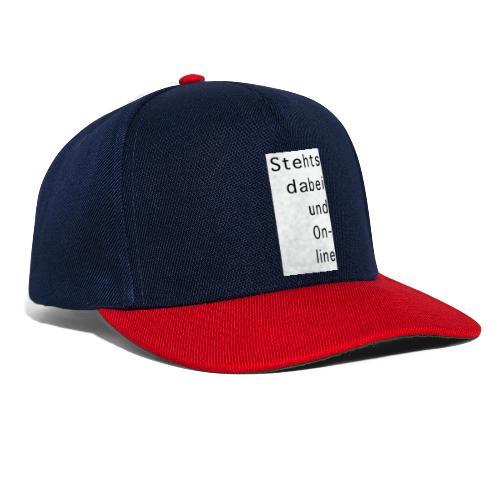 Stehtsdabeiund On- line - Snapback Cap