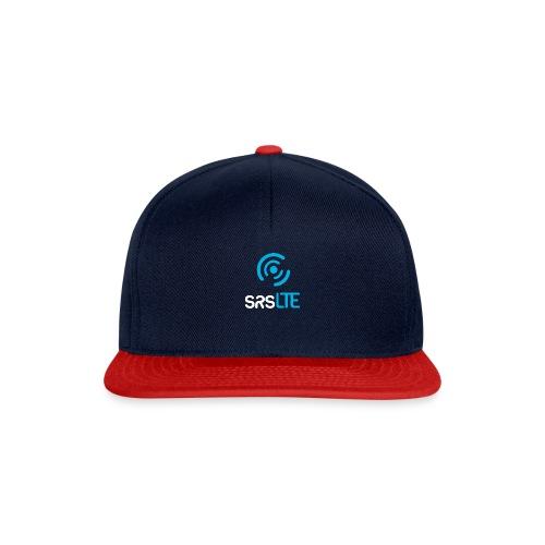 srsLTE vertical bluewhite - Snapback Cap