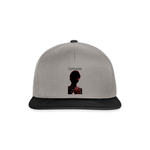 Dark in red and black - Casquette snapback