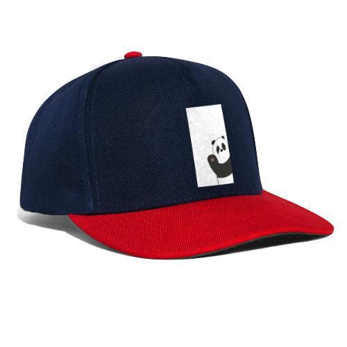 We bare bears panda design - Snapback cap