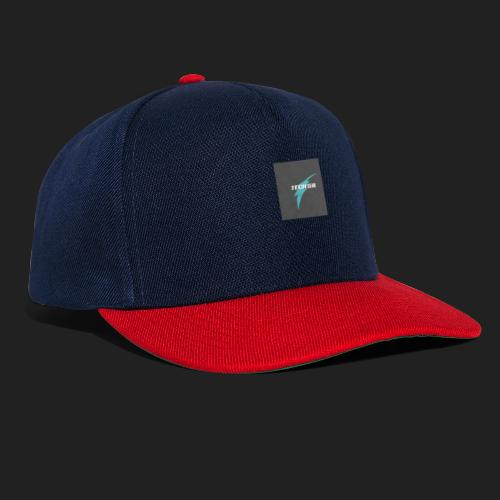 Black and Red Laser Games Logo - Snapback cap