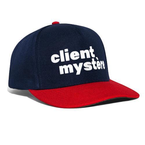 Client Mystère 02 - Casquette snapback
