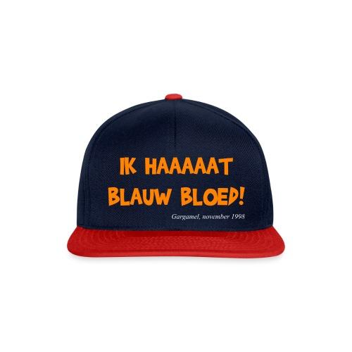 ik haat blauw bloed - Snapback cap