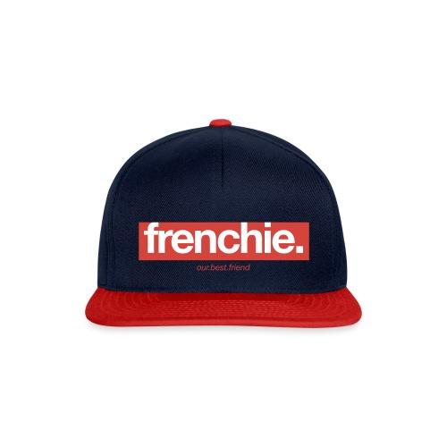 Frenchie Banner - Französische Bulldogge - Snapback Cap