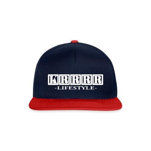 Krrrr lifestyle weiß - Snapback Cap