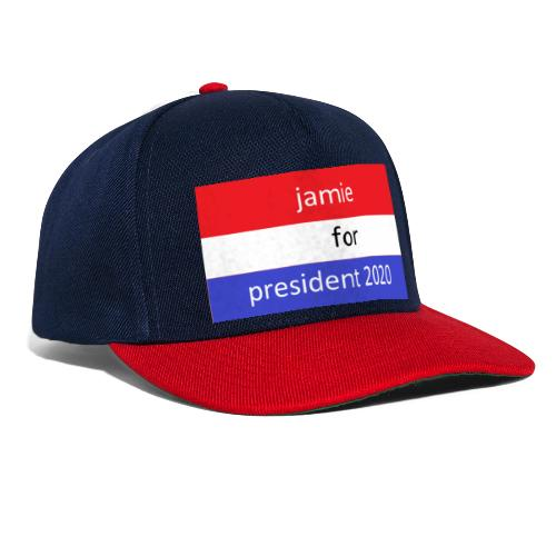 jamie for president 1 - Snapback cap