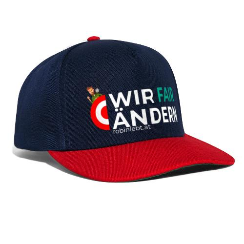 Wir Fairändern Österreich (Flagge) - Snapback Cap