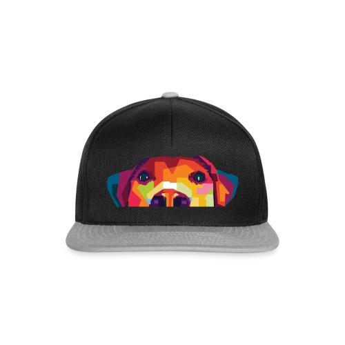 Hunde WPAP Design - Snapback Cap