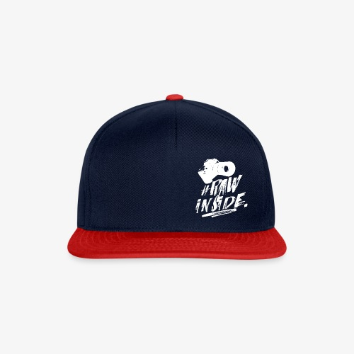 RAW INSIDE wte - Snapback Cap