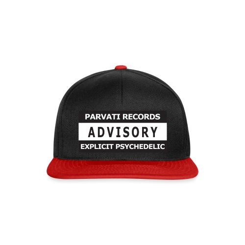 Advisory - Explicit Psychedelic - Snapback Cap