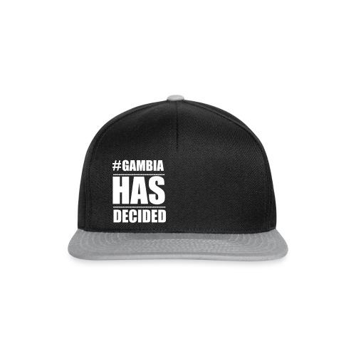 GAMBIA_HAS_DECIDED - Snapback Cap