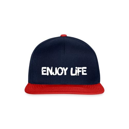 Enjoy Life Logo - Snapback Cap