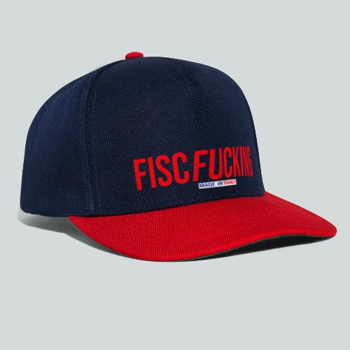 FISCFUCKING Made in France - Casquette snapback