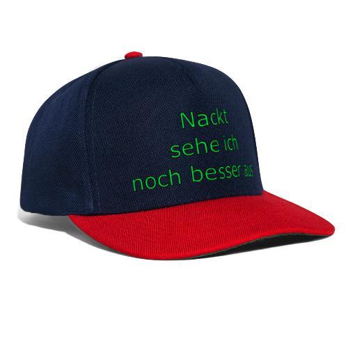 Nackt - Snapback Cap