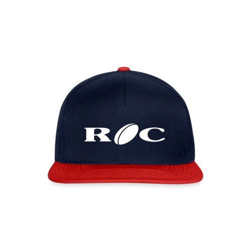 ROC-blanc - Casquette snapback