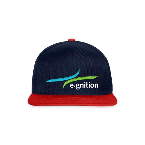 LOGO e gnition white - Snapback Cap