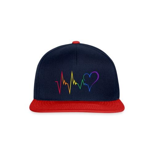 Heartbeat - Snapback Cap