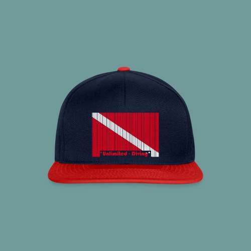 flag_barre_ud - Casquette snapback
