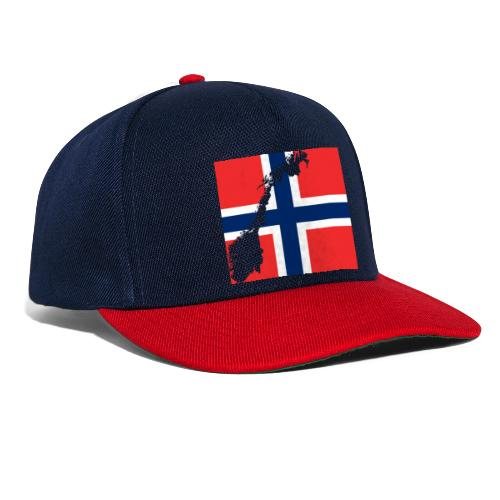 Norges Flagg - Snapback Cap