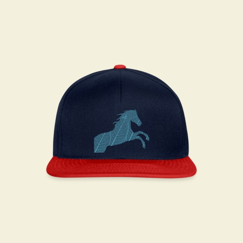Cheval feuille - Casquette snapback