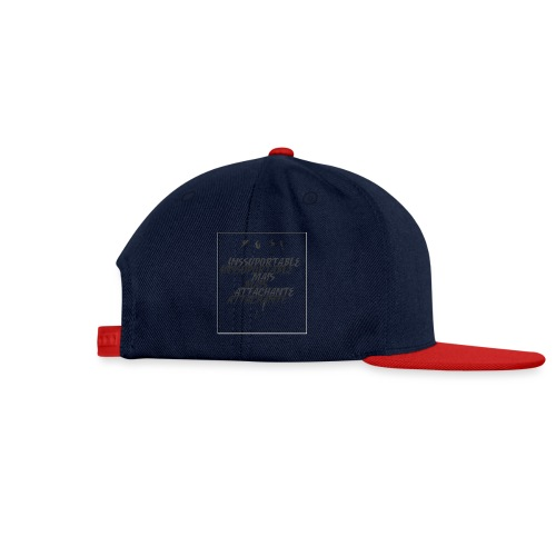 yes - Casquette snapback