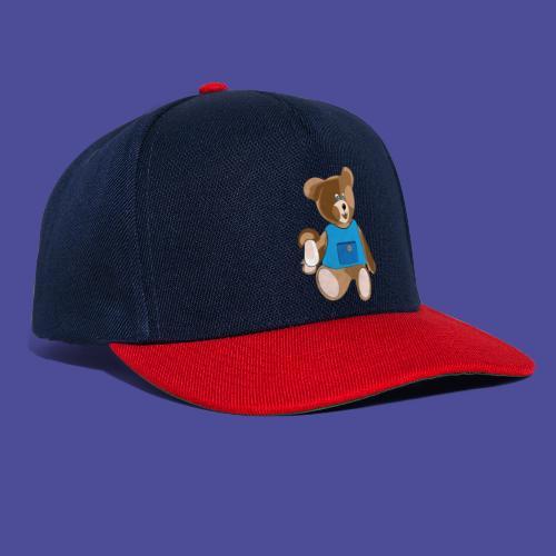 Teddy mit Schürze - Snapback Cap